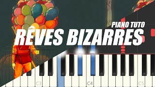 Orelsan - Rêves bizarres (Easy Piano Tutorial)