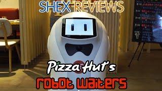 Pizza Hut's Futuristic Robot Waiters