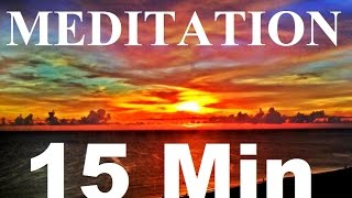 15 min Relaxing Music Evening Meditation Background for Yoga, Massage, Spa