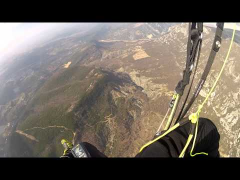 ARTION VRETO - PARAGLIDING 15.02.2013 FLY.MP4