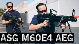 Airsoft GI - ASG M60E4 / MK43 Officially Licensed US Ordnance AEG Machine Gun Review
