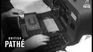 Computer For British Rail (1957)