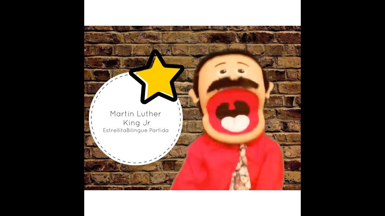 Martin Luther King Jr en Español para niños - YouTube