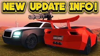 NEW JAILBREAK UPDATE INFO & MORE! (ROBLOX Jailbreak)