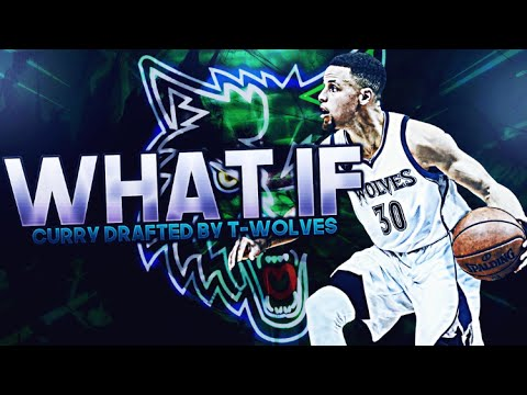 WHAT IF THE TIMBERWOLVES DRAFTED STEPH CURRY + DEROZAN! NBA 2K17