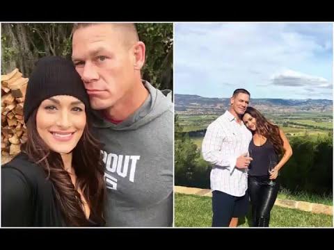 John Cena and ex wife Elizabeth Huberdeau and current wife Nikki Bella