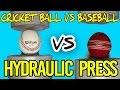 Hydraulic Press | Ball versus Ball