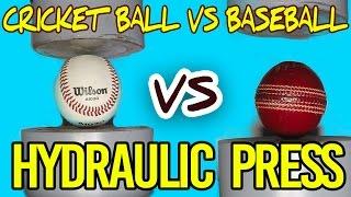 Hydraulic Press | Ball versus Ball