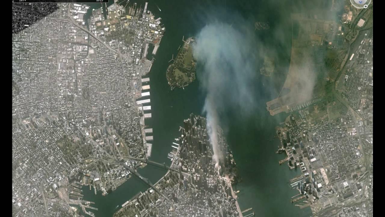 september 11 2001 caught on google earth historical