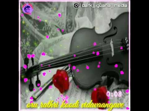 Oru rathri koodi vidavaangave instrumental song by sabareesh