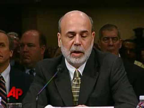 Bernanke Warns Congress Of Possible Recession