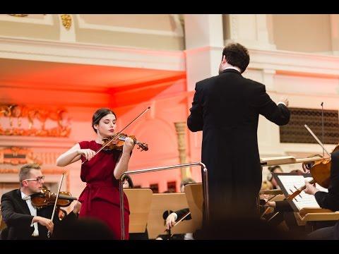 Maria Włoszczowska plays Wieniawski Violin Concerto No. 2 in D minor, Op. 22 | STEREO