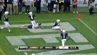 2013 Illinois at Penn State Football Highlights