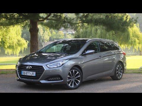 Essai Hyundai i40 SW restyl e