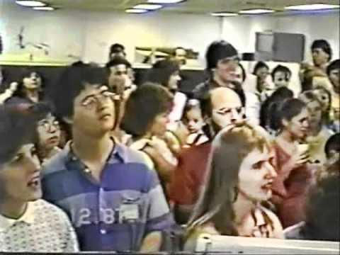 VASP - 1987 :  Festa no final de ano em S.Paulo ( Telecom, CPD e Reservas ).