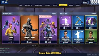 🔴 SHADE, MAVERICK, SPIDER KNIGHT, ARACHNE - GET FUNKY MUSIC ! May 29th Fortnite Daily Item Shop