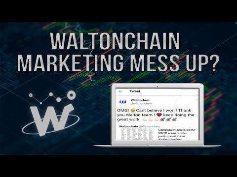 WaltonChain Extreme Price Drop? Marketing Mess Up? Cryptocurrency Now Undervalued?