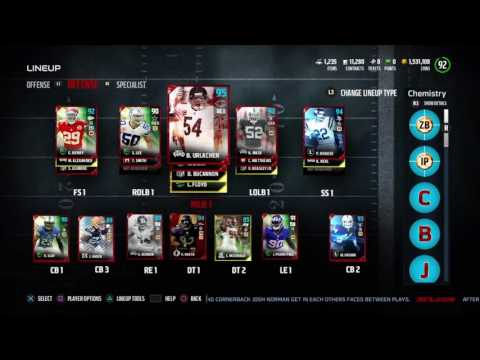 97 OVR Unger! & Small Line-Up Update | Madden 17 Ultimate Team