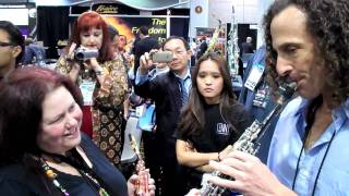 kenny G circular breathing NAMM 2010-HD-1.mov