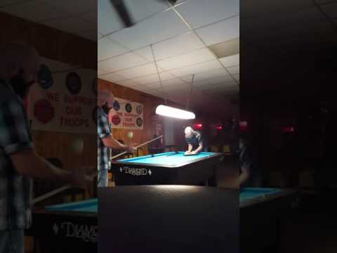 Josh Lumpkin and Cliff.  East Texas bar tables billiards finals.