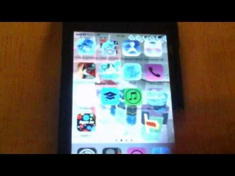 как сделать негатив на Iphone