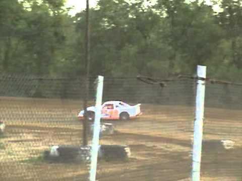 lakeville speedway 6-17-11 heat race (justin patterson) pt.2