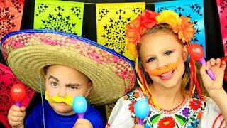 Cinco De Mayo Makeup and Costume Tutorial