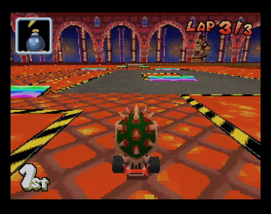 Mario Kart Ds Gba Bowser Castle 2 1080 Hd Youtube