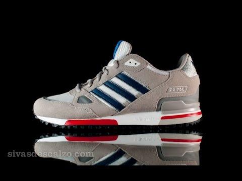 Обзор Adidas zx700 - YouTube