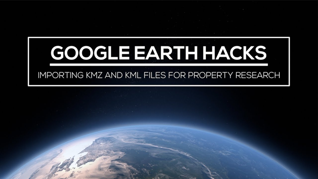 Google Earth Hacks Importing KMZ And KML Files For Property - Us counties kml