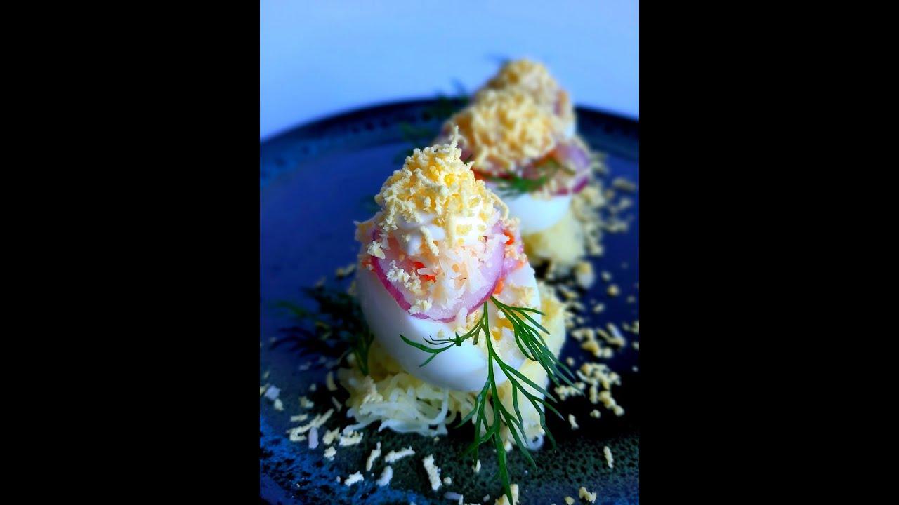 Фаршированные яйца. Супер рецепт. Яйца со вкусом салата мимоза