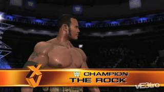 WWE: Legends of WrestleMania - The Rock Intro (HD 720p)