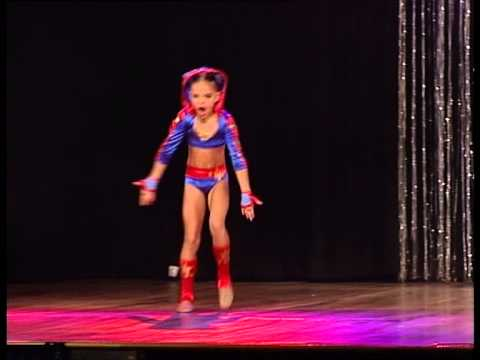 Talia Munro - BEST SHOT - Age 8 Showcase National Dance Championships, Sydney