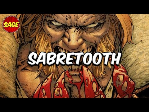 "Who is Marvel's Sabretooth? Psychotic ""Anti-Wolverine"" aka The Runt Hunter."