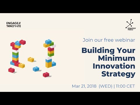 Webinar: Building Your Minimum Innovation Strategy