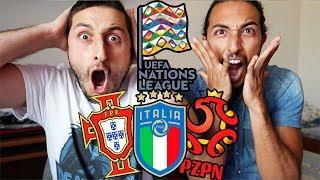 La nostra REAZIONE AI SORTEGGI!! Italia-Portogallo-Polonia [Uefa Nations League]