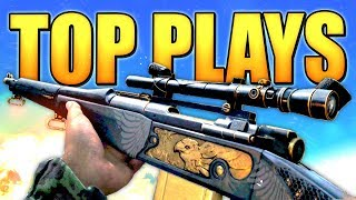 COD WW2 Top 10 Best Sniper Plays | Best Sniping Multiplayer Gameplay Highlights & Quickscoping Clips