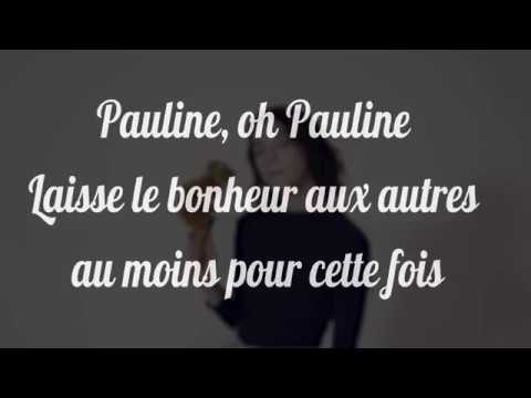 [PAROLES-LYRICS] Pomme - Pauline