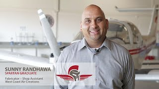 Aviation Maintenance Technology Testimonial | Sunny Randhawa | Spartan College