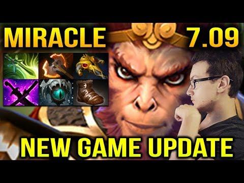Miracle [Monkey King] 7.09 New Game Updates Dota 2 thumbnail