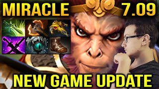 Miracle [Monkey King] 7.09 New Game Updates Dota 2