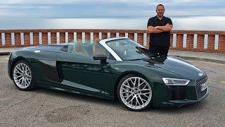 Audi R8 Spyder V10 2017 im Test - Fahrbericht & Review