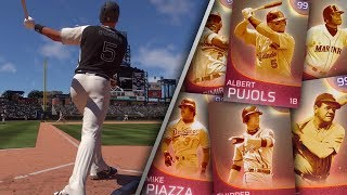 IMMORTAL Homerun Derby Who Can Hit the Longest Homer MLB The Show 18 Diamond Dynasty