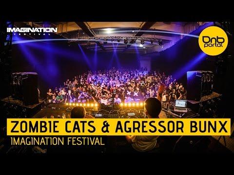 Zombie Cats & Agressor Bunx - Imagination Festival 2016 [DnBPortal.com]