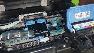 Purgar o sacar aire sistema continuo de tinta | Canon G2100 G2110 G3100 G3110 G4100 G4110 | Serie G