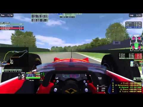 rFactor F1 Motion Sickness Simulator