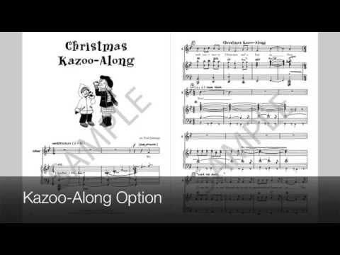 Christmas Kazoo-Along - MusicK8.com Singles Reproducible Kit