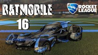 16 Batmobile | Urban Central | Car Preview | Rocket League