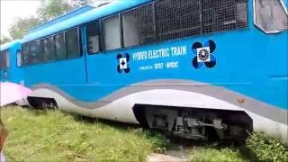DOST-MIRDC Hybrid Electric Train in Action!