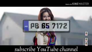 New Punjabi songs (2018 latest song) PB 65 Waliye song